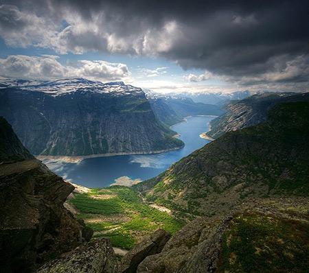 ترول تونگا,ترول تونگا از جاذبه های دیدنی نروژ,ترول تونگا کجاست