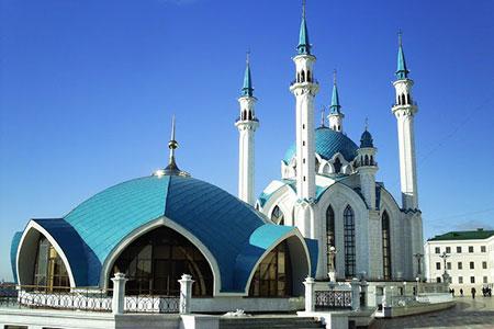 مسجد قل شریف,مسجد کول شریف,بزرگ ترین مسجد روسیه